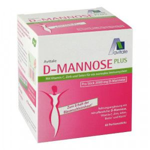 D-MANNOSE PLUS 2000 mg Sticks m.Vit.u.Mineralstof.